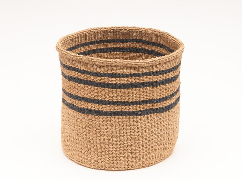 Maison Marcel The Basket Room XS to XL Black & Natural Basket