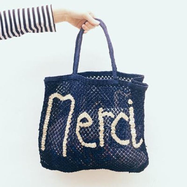 Maison Marcel The Jackson Merci Blue Bag