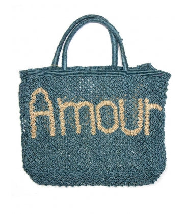 Maison Marcel The Jacksons Amour Blue Bag