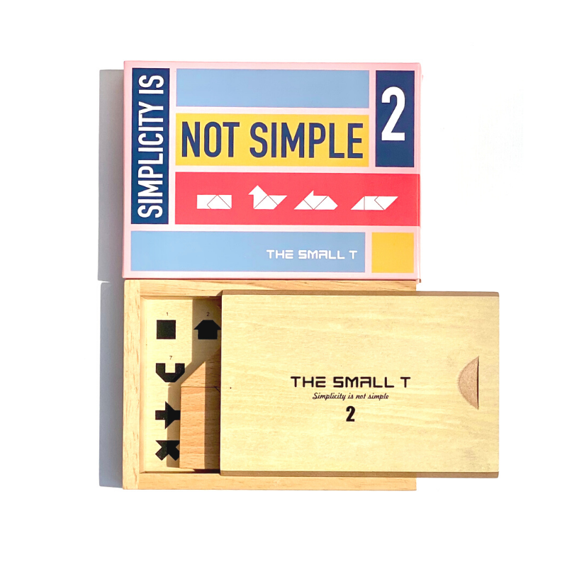Maison Marcel The Smallt Puzzle Game Beginner T2