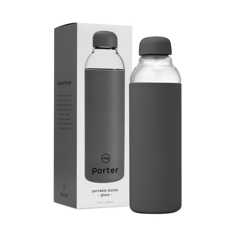 Maison Marcel W&P Charcoal Glass Bottle