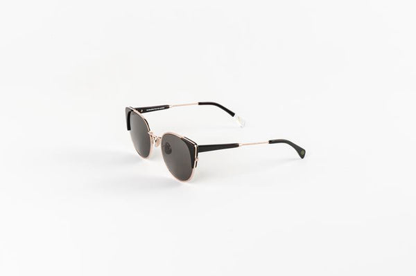 Maison Marcel Waiting For The Sun Claudia Black Sunglasses