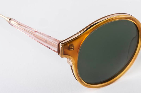 Maison Marcel Waiting For The Sun Jim  Amber Sunglasses