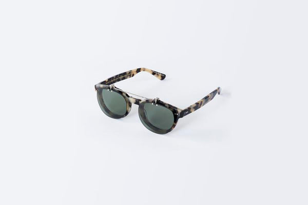 Maison Marcel Waiting For The Sun New-York Flap Tortoise Sunglasses