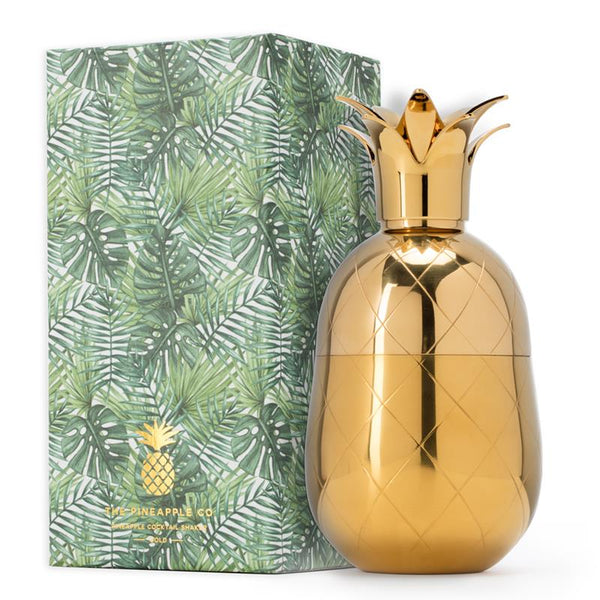 Maison marcel W&P Pineapple Tumbler Gold