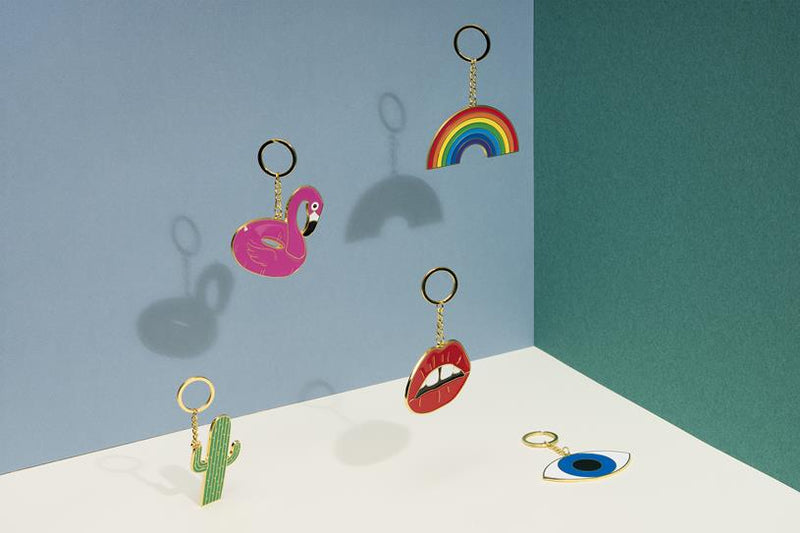 Oversized Lips Key Ring DOIY Maison Marcel