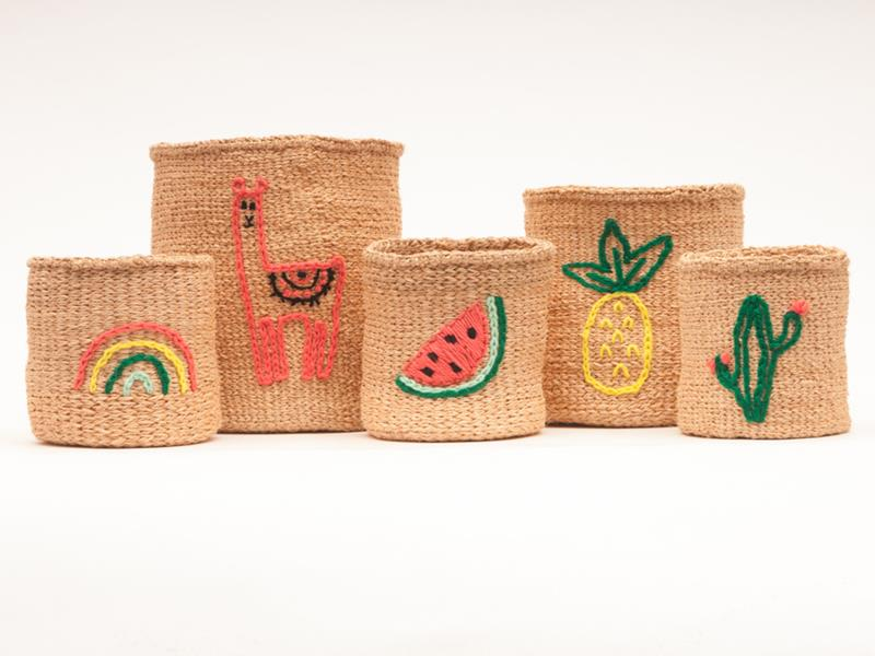 Embroidered Family Watermelon