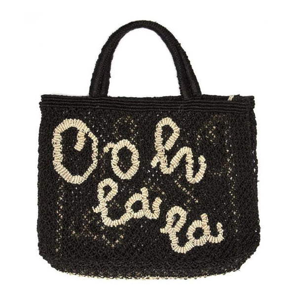 Ooh La La Natural Black Bag