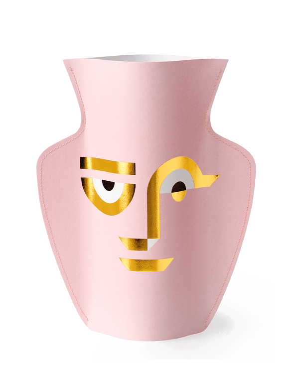 Large Vase Double Sided Blue & Pink