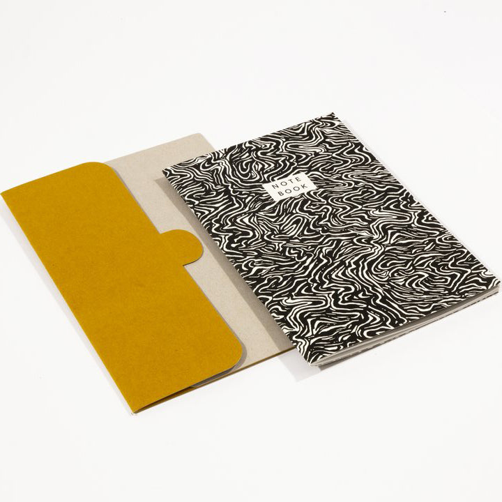 Wave Notebook + Folder (A5)