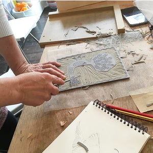 One to one Lino Printing Workshop