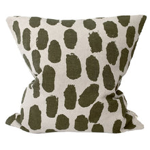 Load image into Gallery viewer, Dots Cushion Cover - Olive