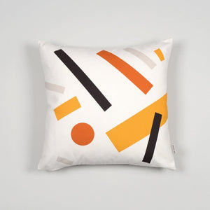 Shapes Cushion 005 - Orange tones