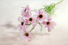Load image into Gallery viewer, Beautiful Artificial Light Pink Cosmos Daisy