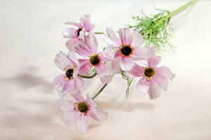 Beautiful Artificial Light Pink Cosmos Daisy