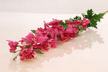 Load image into Gallery viewer, Bold Faux Pink Delphinium