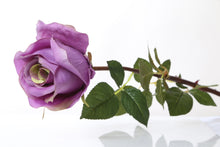 Load image into Gallery viewer, Gorgeous large mauve faux rose bud
