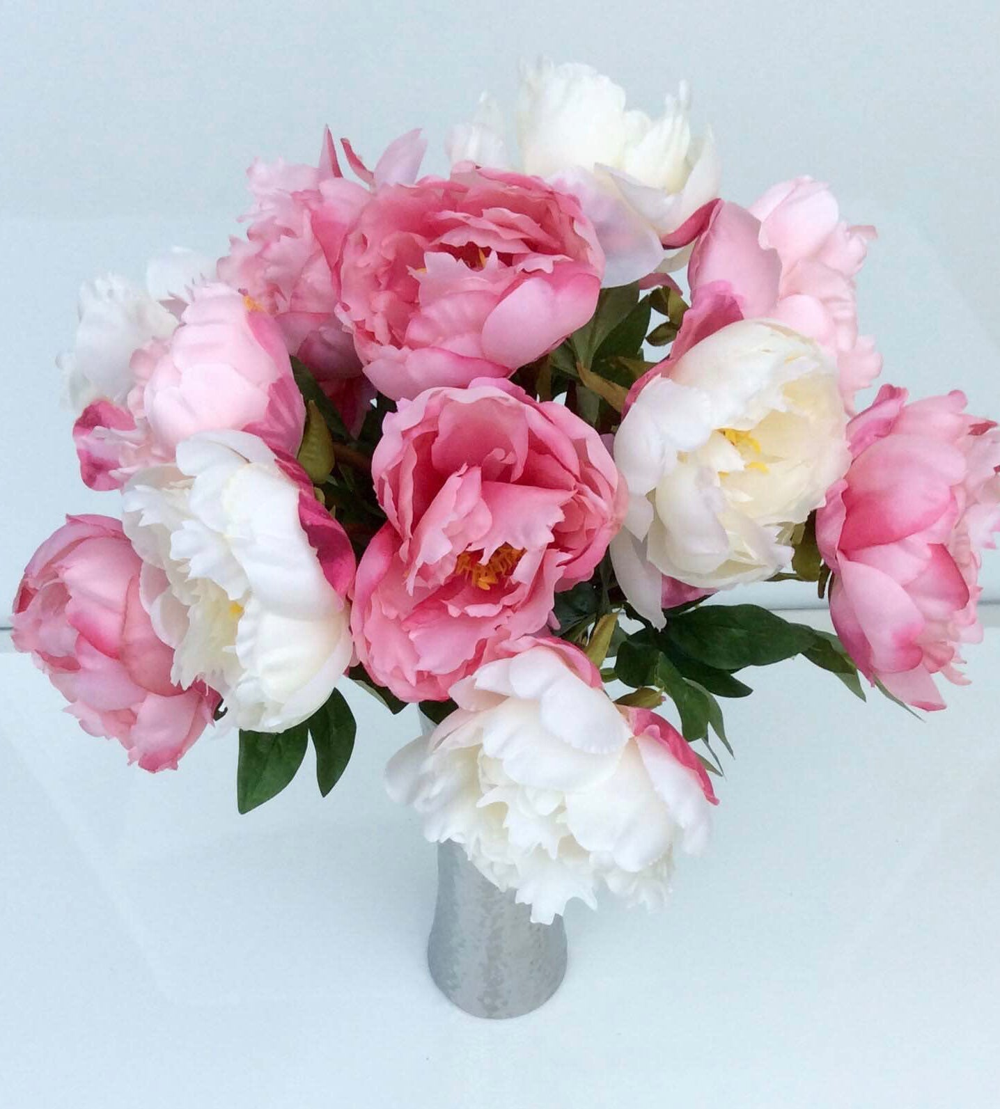 Pretty Mixed Peonies