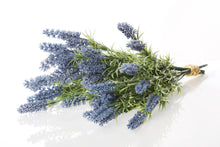 Load image into Gallery viewer, Lovely bunch of purple artificial lavender
