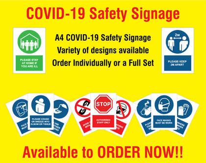 COVID Safety Signs