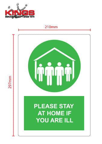 COVID-19 Safety Signs - Home