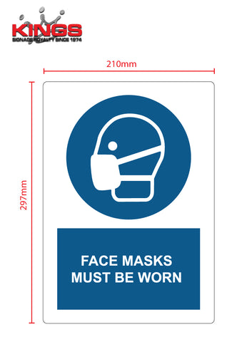 COVID-19 Safety Signs - Face Masks