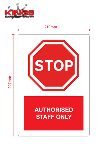 COVID-19 Safety Signs - STOP