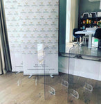 Clear Protective Screen - 1000mm x 750mm Blank
