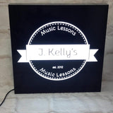 400x300mm S/Sided Lightbox - Custom Text