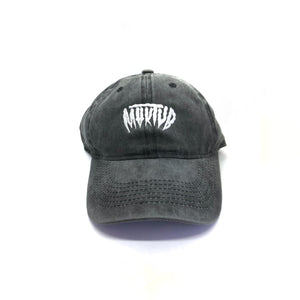 CREEPY DAD HAT - DARK HEATHER -