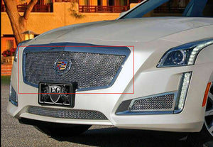 E&G 2014 CADILLAC CTS CLASSIC HEAVY MESH GRILLE - UPPER ONLY 1007-010U-14HAC