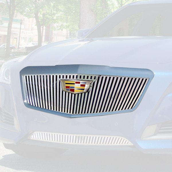 E&G 2015-2018 CADILLAC CTS VERTICAL STYLE GRILLE 1007-010U-15CV