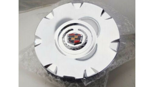 "CTS STS 17"" CHROME FACTORY STYLE EMBLEM CENTER CAPS SET OF 4"