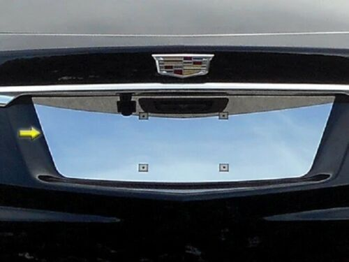 Cadillac XT5 POLISHED STAINLESS STEEL REAR LICENSE PLATE TRIM