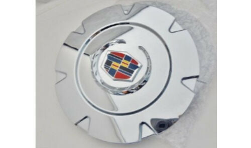 "ESCALADE 18"" CHROME FACTORY STYLE EMBLEM CENTER CAPS SET OF 4"