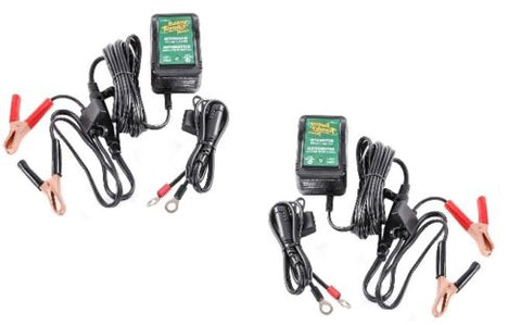 2 DELTRAN BATTERY TENDER JUNIOR-JR 0210123!! 12V Maintainer/Charger/Tender