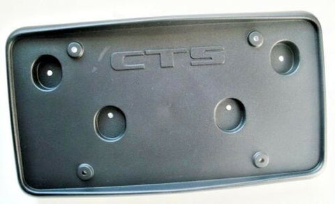 CTS LICENSE PLATE BRACKET 2003-2007
