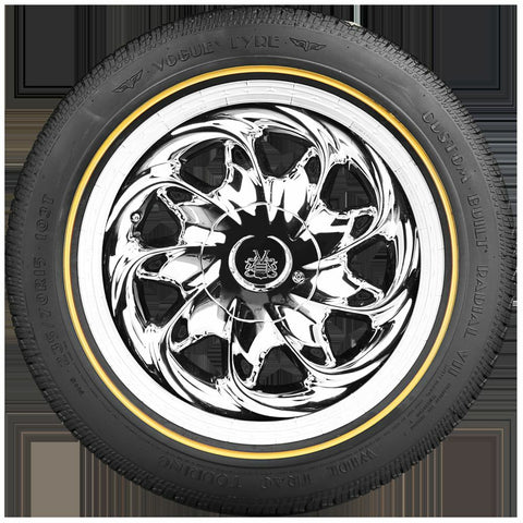 VOGUE TYRE 215-70R15 WHITE AND GOLD SET OF 4 TIRES