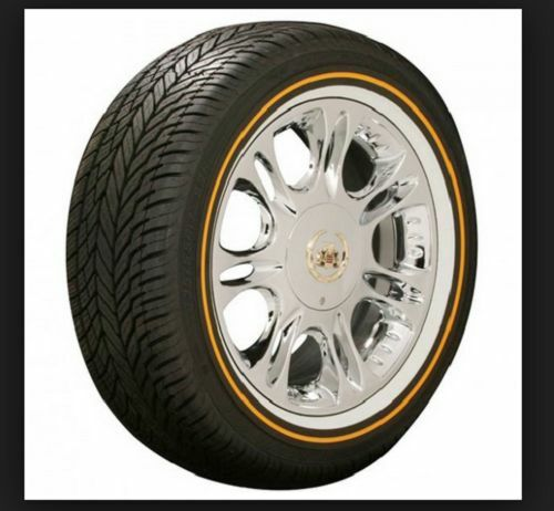 VOGUE TYRE 235-55R17 WHITE AND GOLD SET OF 2 TIRES