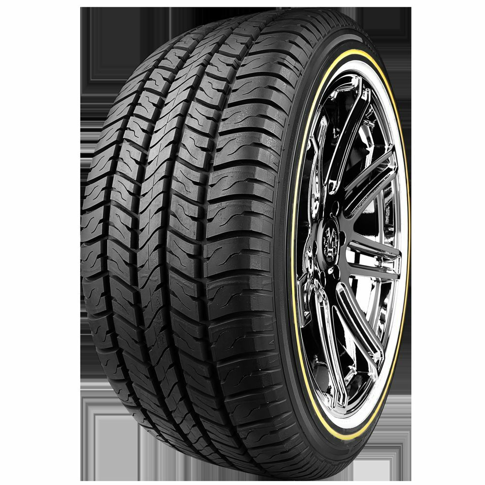 VOGUE TYRE 225-60R16 WHITE AND GOLD SET OF 4 TIRES