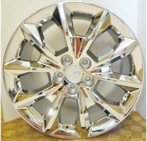 "XTS CTS CTS V CT6 CHROME 19"" X 8.5"" GENUINE FACTORY GM SET OF 4 WHEELS 4751"