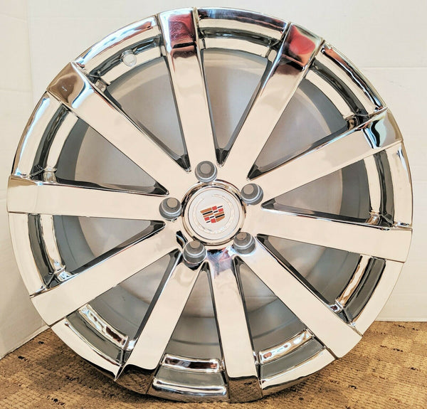 "CTS CT5 CHROME 18"" X 8.5"" FACTORY STYLE SET OF 4 WHEELS"