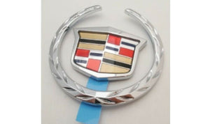 STS-V CHROME REAR BRAKELIGHT WREATH AND CREST EMBLEM