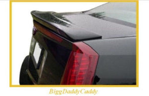 STS FACTORY STYLE SPOILER BLACK 2005-2011