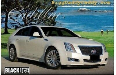 E&G CADILLAC CTS 2PC CLASSICS BLACK ICE HEAVY MESH GRILLE 1007-B104-08
