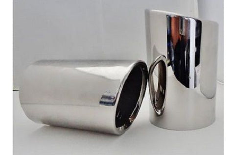 CTS 2pc Exhaust Tips Stainless Steel 2008-2013