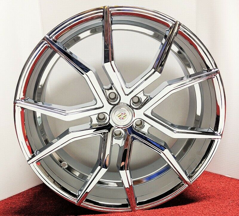 "VICTORY CHROME 20"" X 8.5"" SET OF 4 WHEELS"
