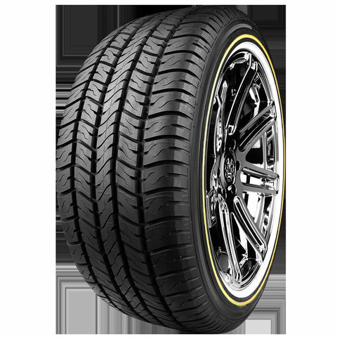VOGUE TYRE 305-40R22 WHITE AND GOLD SINGLE TIRE