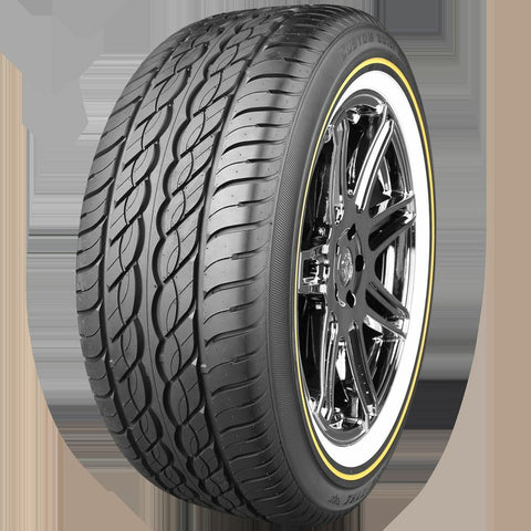 VOGUE TYRE 235-50R18 WHITE AND GOLD SET OF 2 TIRES