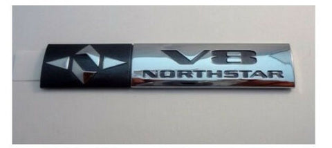 STS CHROME V8 NORTHSTAR EMBLEM